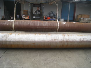 Seamless Structural Steel Pipe ASTM A106 Grade B 56 Inches SCH XXS Boiler Application