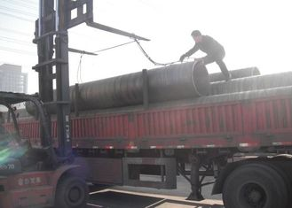 Boiler Seamless Carbon Steel Pipe ASTM A106 Grade B 559 * 100mm NDE Size