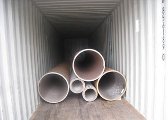 Refinery Carbon Steel Seamless Tube ASTM A106 Grade C Hot Finished 610 * 100mm NDE